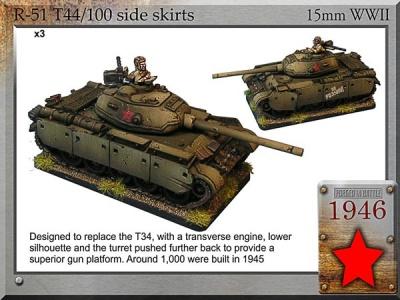 T-44/100 medium tank (3)