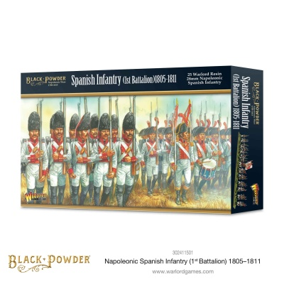 Napoleonic Spanish Infantry (1st Battalions) 1805-1811