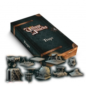 Village Attacks: 3d traps - DE/EN (OOP)