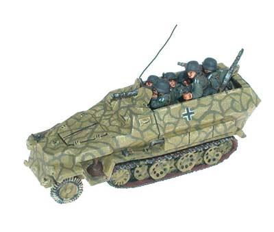 Sd Kfz 251/1C, /10C (3.7cm)
