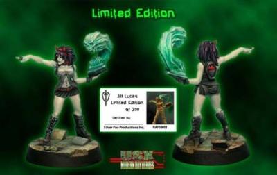 Jill Lucas,Cult Leader- Limited Edition