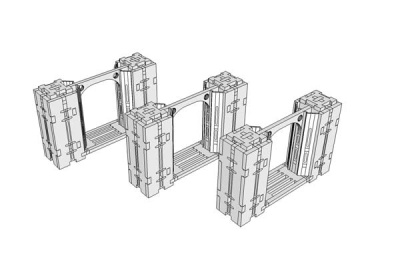 Vault Expansion Pack: 100mm Archways