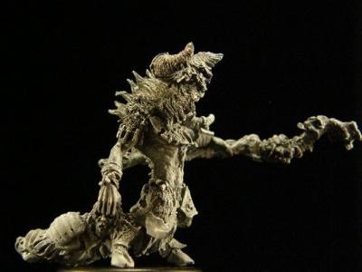 Schamane der gehörnten Bestien