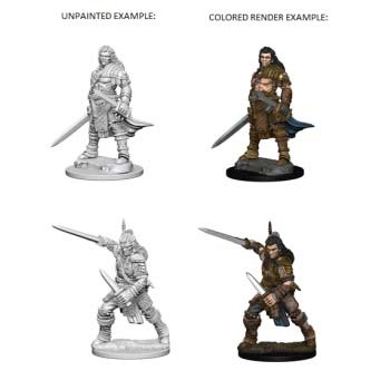 Pathfinder: Human Male Fighter (2)