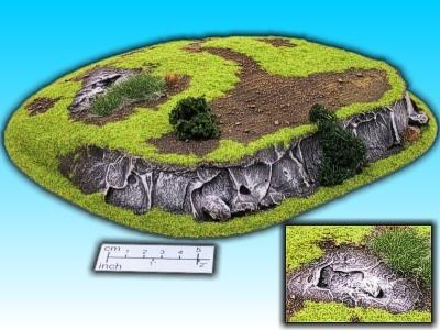 Geländestück großer Hügel