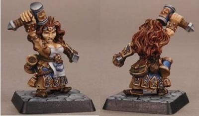 Margara, Dwarf Sorceress
