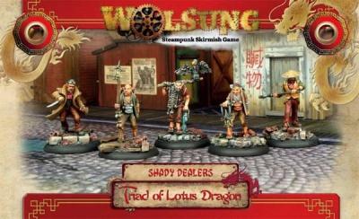 Triad of Lotus Dragon Henchmen Box 1 (5)