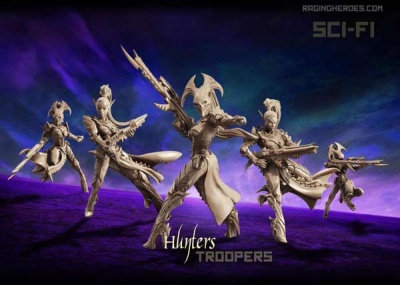 Hunters - TROOPS (VE-SF)