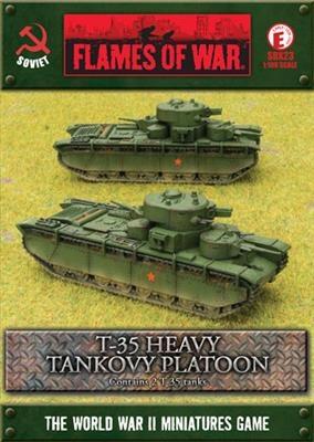 T-35 Heavy Tankovy Platoon (2)