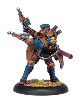 Cygnar Warcaster Lt. Allister Caine - 2009