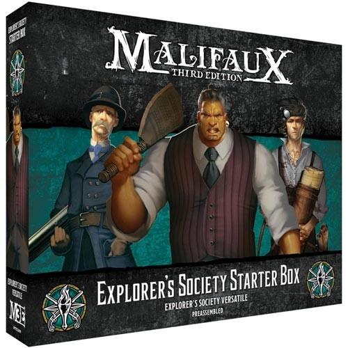 Malifaux (M3E): Explorer's Society - Starter Box