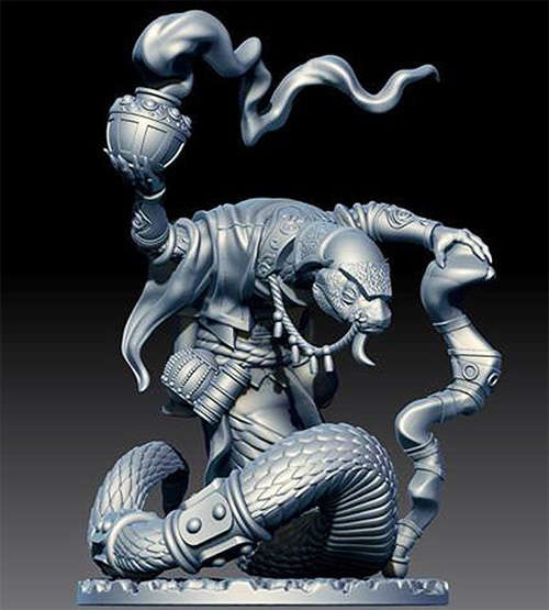 Snakeman Mystic