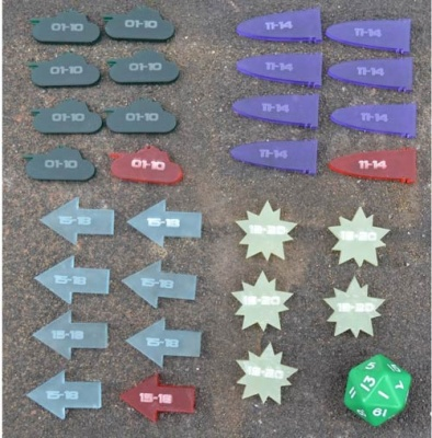 Structure Point Damage Tokens