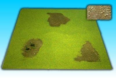 Grasfläche ''Erde'' 50 x 50 cm