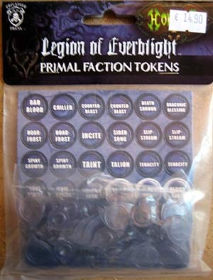 Legion of Everblight Token Set
