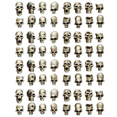 Human Skulls (28mm) (64)