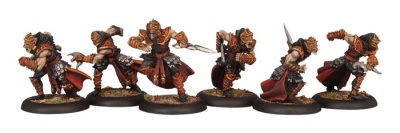 Skorne Bloodrunner Unit    (6 Models)