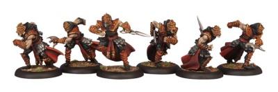Skorne Bloodrunner Unit    (6 Models)