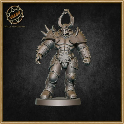 Chaos Warrior 75mm