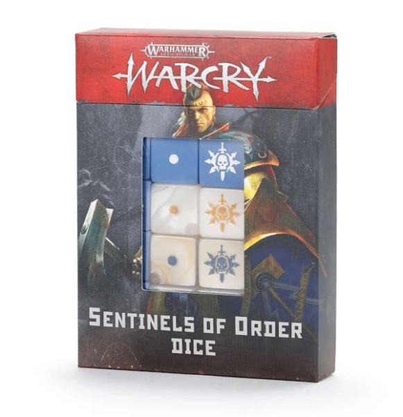 Warcry: Sentinels of Order Würfelset