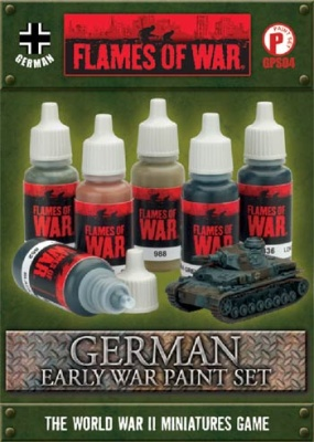 German Early War Paint Set (6)