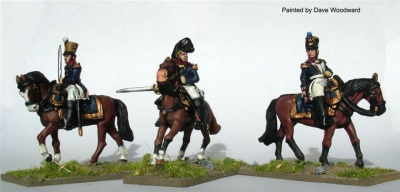 Mounted Infantry Colonels (3)
