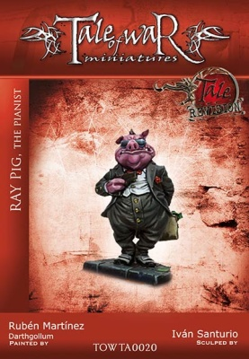 Ray Pig, the Pianist