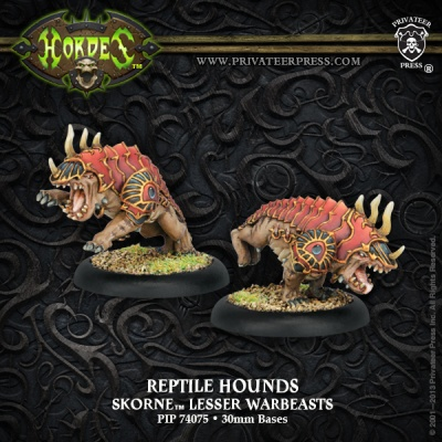 Skorne Reptile Hounds Lesser Warbeasts (2)