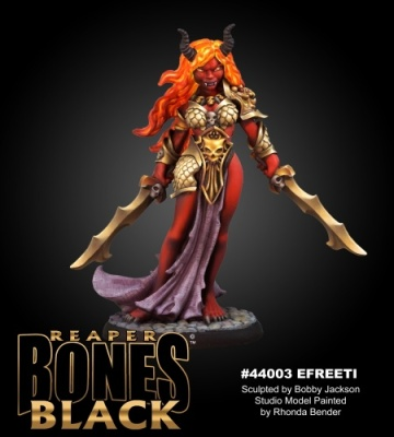 Reaper Bones Black female Efreeti (1)