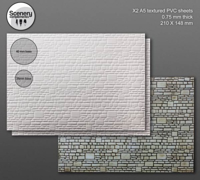 Textured Sheet: Stone Wall (2)