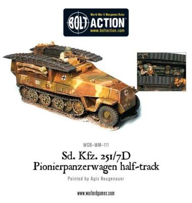 Sd.Kfz 251/7D Pioneerwagen Half Track