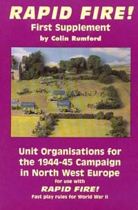 Unit Organisations 44-45 North West Europe  (Rapid Fire)
