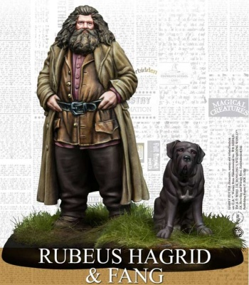 Rubeus Hagrid and Fang Pack