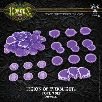 HORDES Legion of Everblight Faction Tokens 2016