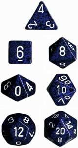 Chessex Stealth Speckled 7-Die Set