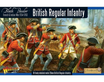 British Regular Infantry boxed set (18)