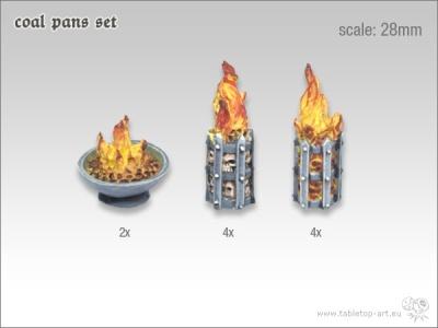 Feuerbecken Set 28mm (10)