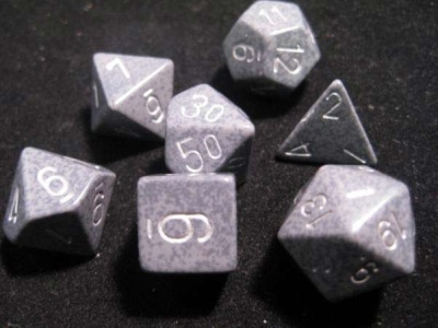 Chessex Hi-Tech Speckled 7-Die Set