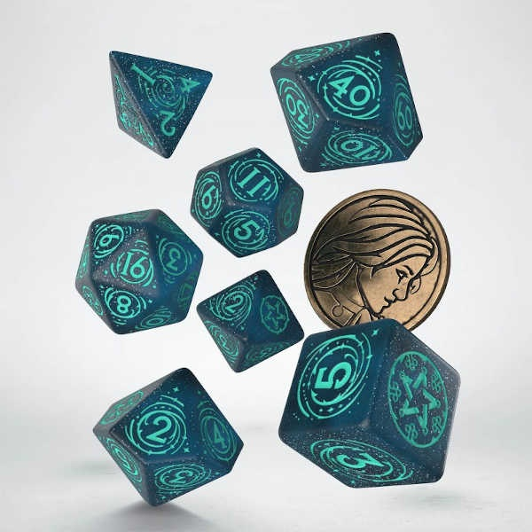 The Witcher Dice Set. Yennefer - Sorceress Supreme (7)