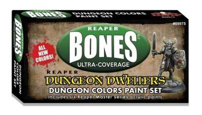 MSP Bones: Dungeon Colors Set (6)