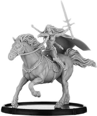 Sáthach, Ríonfénnid on Horse