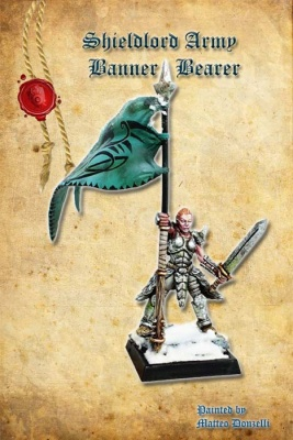 Shieldlord Army Banner Bearer