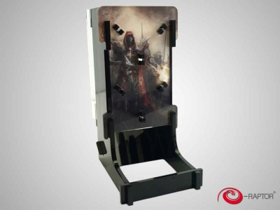 Dice Tower Cuboid - War (Warrior)