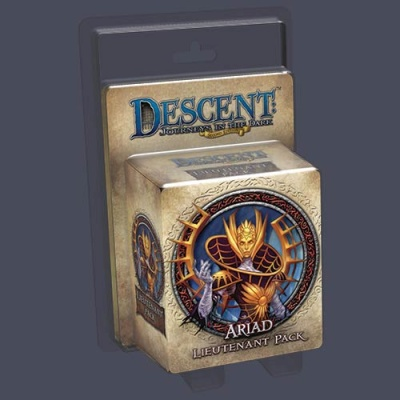 Descent Road to Legend Miniatures: Ariad