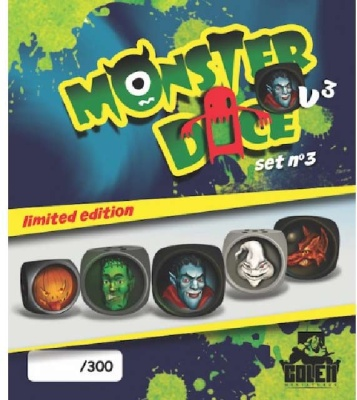 Monster Dice (painted, lim) Set 3