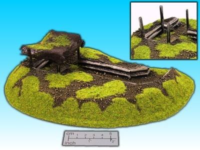 Geländestück Schützengraben