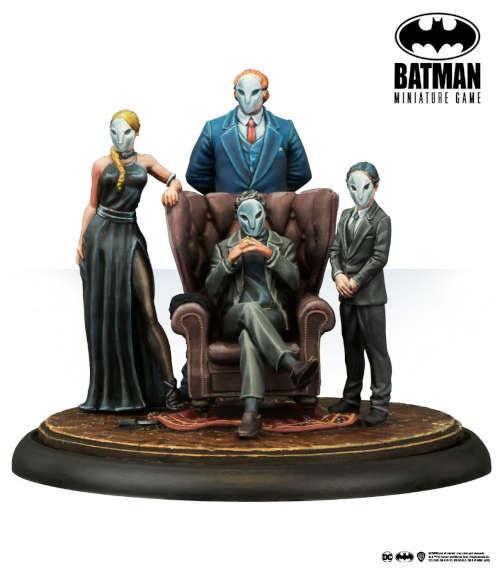 Batman Miniature Game: The Court