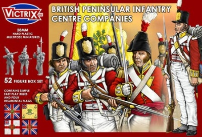 British Peninsular Infantry Centre Companies