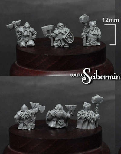 15mm Dwarven Lords #5