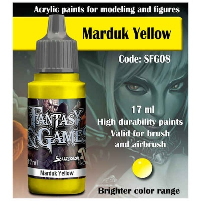 Scalecolor Fantasy 08 Marduk Yellow (17ml)